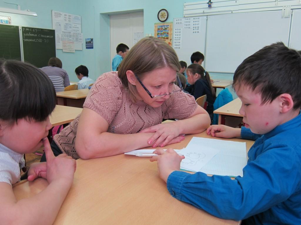 Байкалова Зина (2 г.о., Яр Юлиан (2 г.о.) и Минова Маргарита Васильевна
