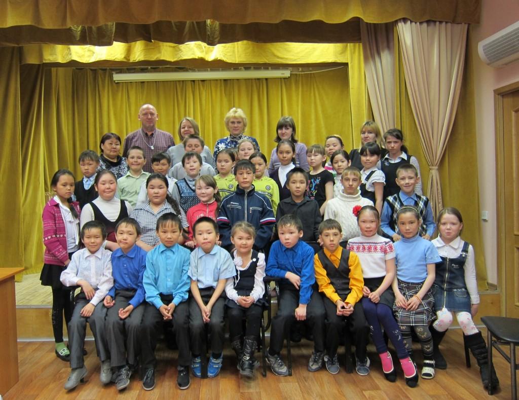 Первоначальный состав РВГ Первой дудинской школы