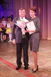 С мэром Илаем Ахметовым
